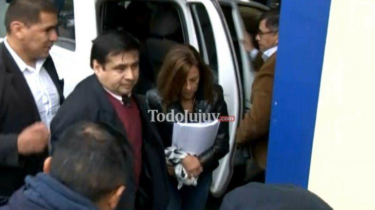 Luis Cosentini y Claudia Trenque están en Tribunales para declarar por la Megacausa