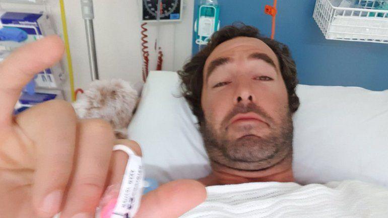 Un argentino, hijo de un ex Puma, luchó cuerpo a cuerpo con un tiburón y se salvó