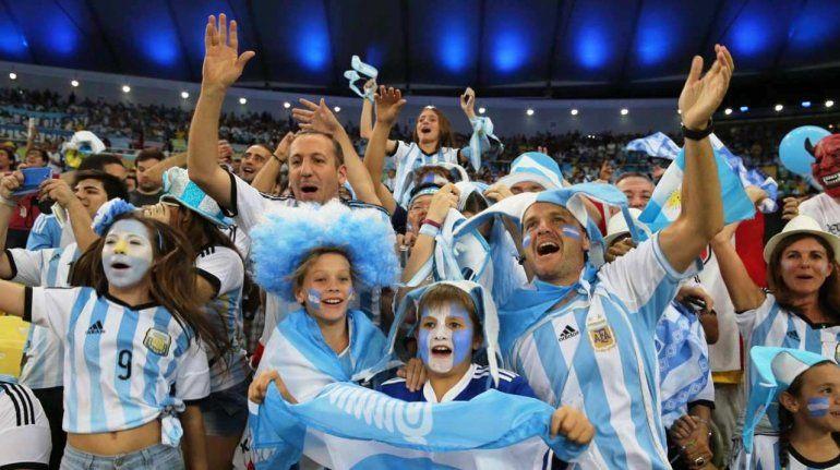 Los argentinos están terceros en la compra de entrada para Rusia