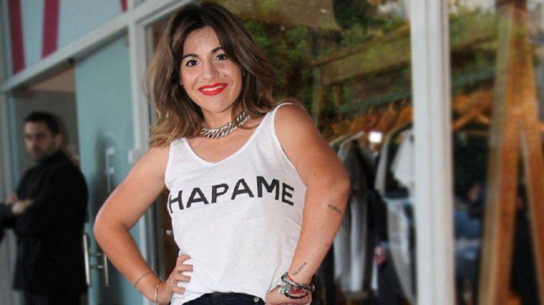 Gianinna Maradona mostró una foto de su look en el casamiento de Dalma