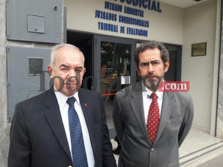 Diego D´andrea, abogado de Luis Cosentini: está causa es competencia de la Justicia Federal