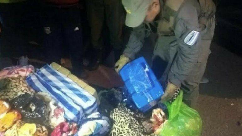 Detienen un importante cargamento de droga en Salta, que tenía como destino Tucumán