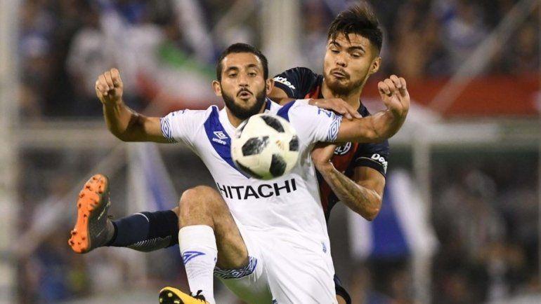 Vélez y San Lorenzo empataron en un encuentro vibrante