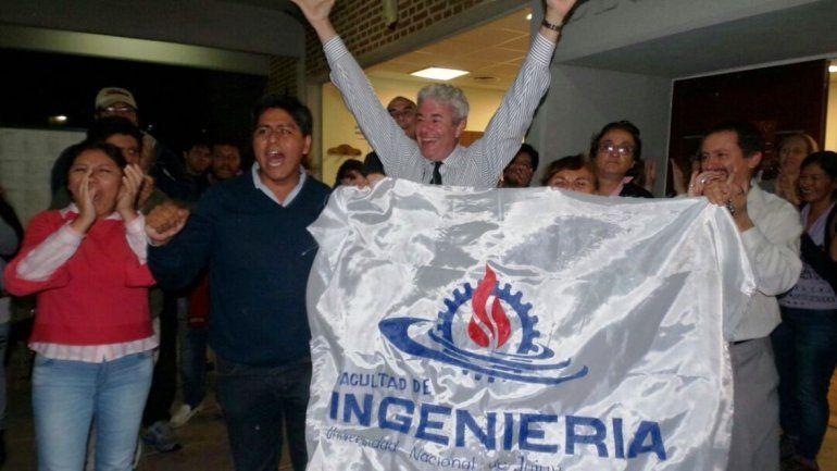 Gustavo Lores se impuso en segunda vuelta y seguirá siendo el decano de Ingeniería