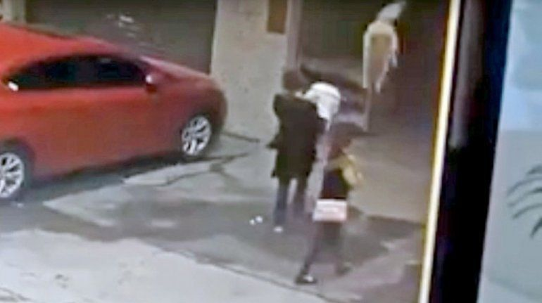Increíble: un perro cayó de un edificio y noqueó a una mujer