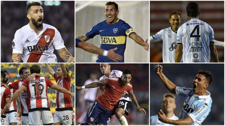 Cuál es la situación de los equipos argentinos en la Copa Libertadores