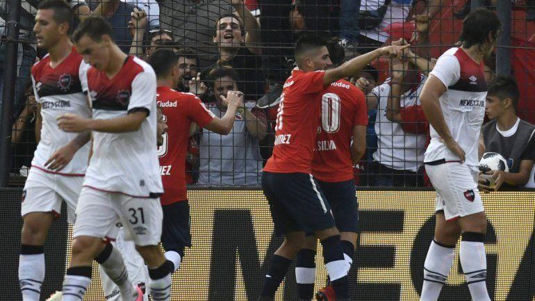Independiente ganó en Rosario y volvió a zona de clasificación a la Libertadores