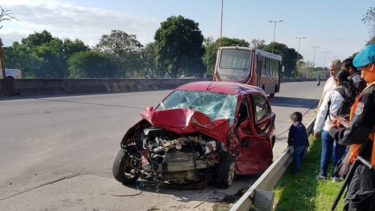 El relato en primera persona del accidente fatal en avenida Savio: Nunca sentí tanto dolor