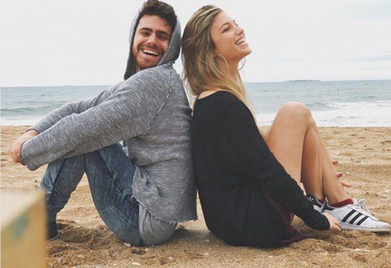 Gastón Soffritti y Stefanía Roitman se mostraron muy románticos en Punta del Este