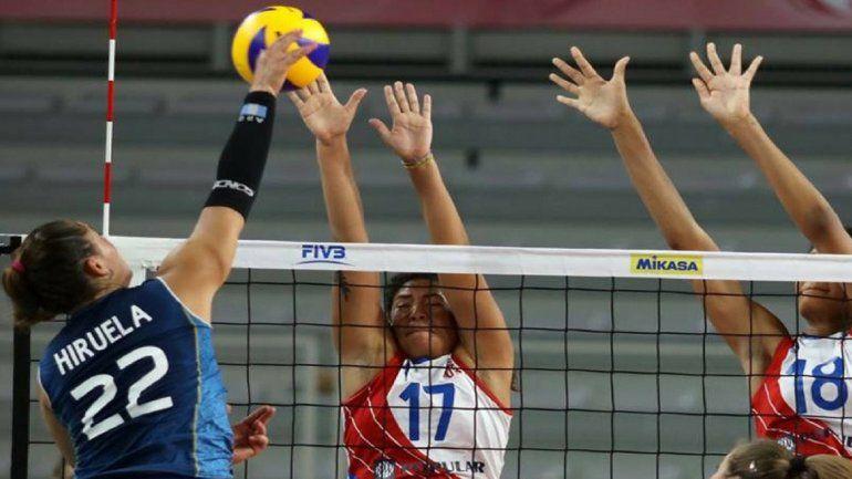 Camila Hiruela jugará la Volleyball Nations League con Las Panteras