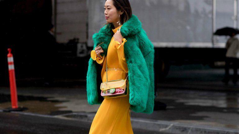 Animate a copiar:el color blocking pisa fuerte en el mundo de la moda