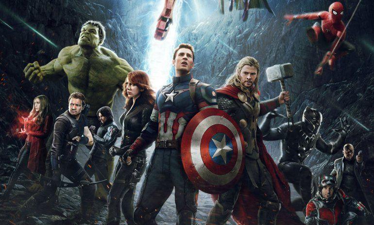 Mirá cómo celebraron los actores de Avengers los 10 años de Marvel Studios