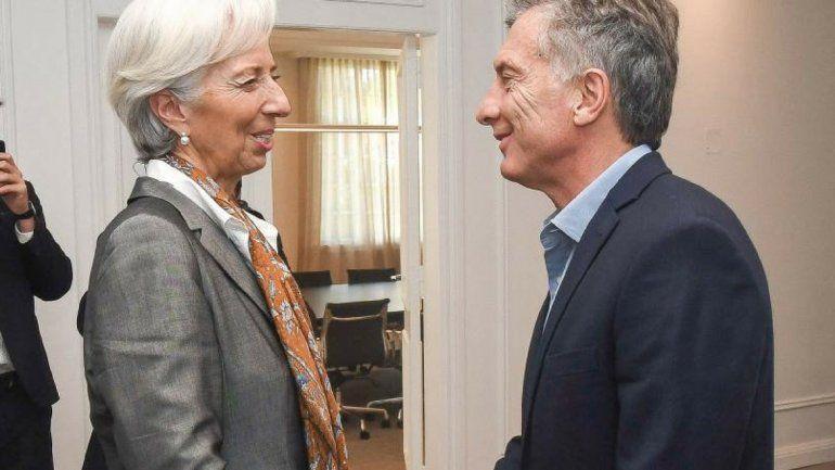 Christine Lagarde, del FMI: Espero con interés continuar nuestra colaboración con la Argentina