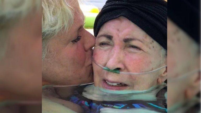 Murió Aldinha, la mamá de Xuxa: el conmovedor mensaje de la cantante