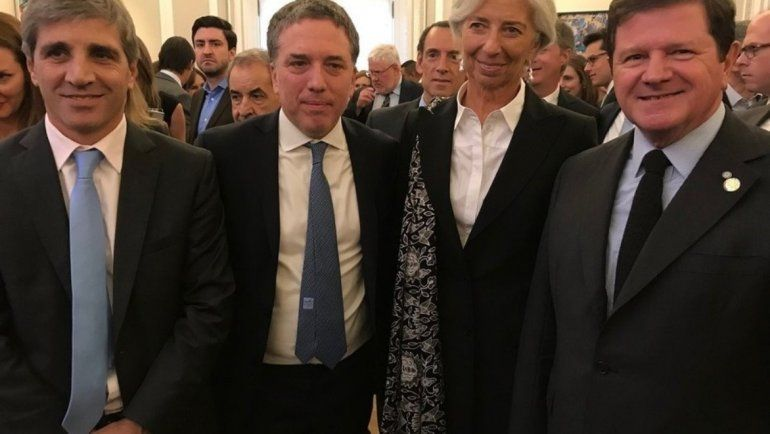 Nicolás Dujovne visita a la jefa del FMI y busca apoyo de Donald Trump
