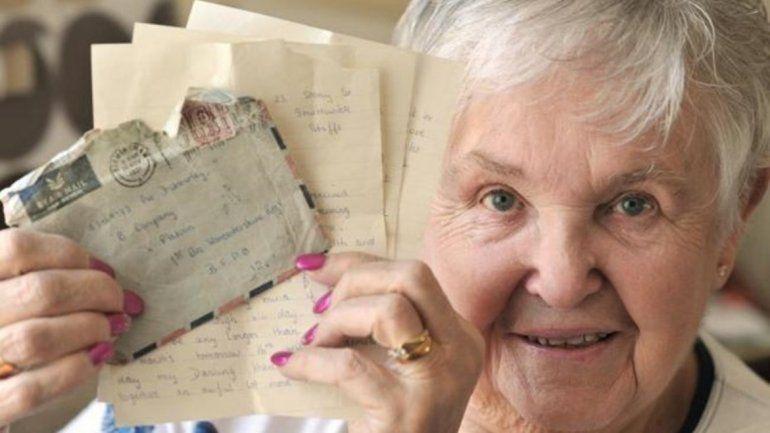 Te quiero y siempre te querré: recibió una carta que le escribió su marido hace 57 años