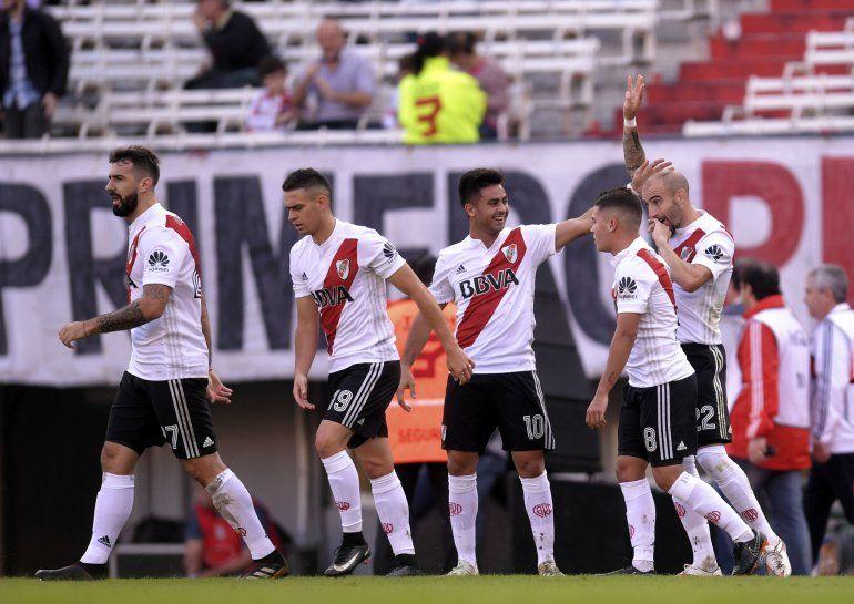 River volvió a ganar y quedó en zona de clasificación a la Copa Sudamericana