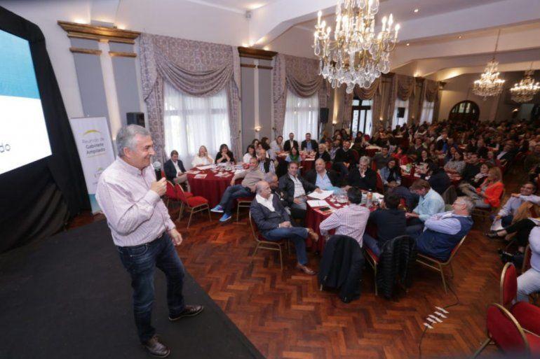 Gerardo Morales les pidió a los funcionarios que actúen con humildad y honestidad
