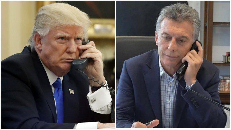 Mauricio Macri habló por teléfono con Donald Trump a días del inicio de negociaciones con el FMI