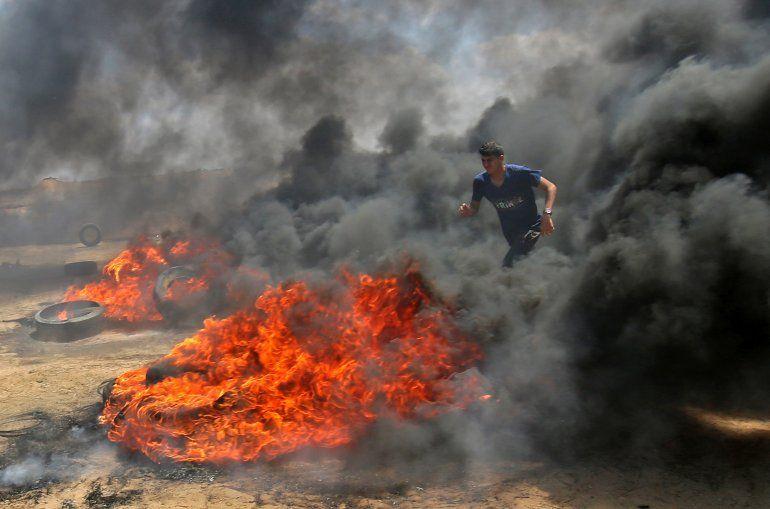 37 muertos y 1.700 heridos en Gaza, enlutan el traslado de la embajada de EEUU a Jerusalén
