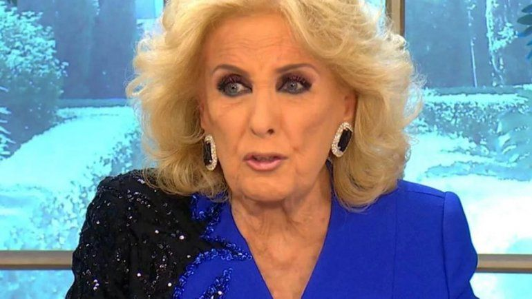 Mirtha Legrand, furiosa con Ventura por grabar una comunicación telefónica