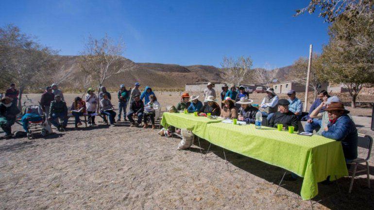 Comunidades salineras: realizaron reuniones de trabajo con comunidades aborígenes