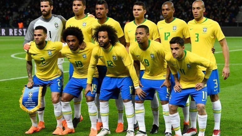 Brasil tiene los 23 para el Mundial