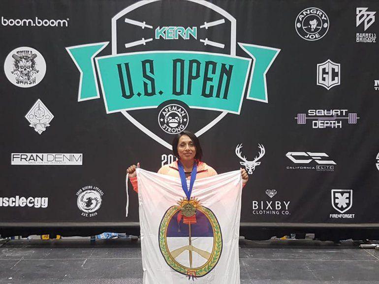 Powerlifting: gran torneo de Maria Ramos en los Estados Unidos