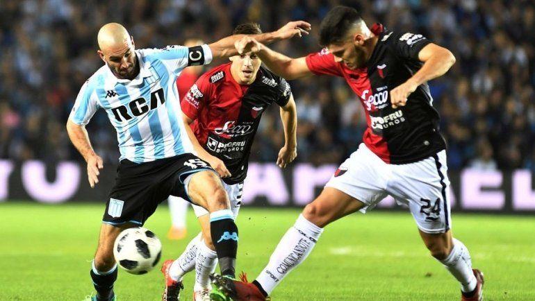 Colón amargó a Racing y se clasificó a la Sudamericana
