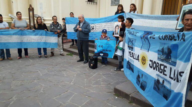 Marcha en Jujuy pidiendo justicia por los 44 tripulantes del ARA San Juan
