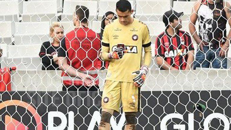 Arquero del Atlético Paranaense