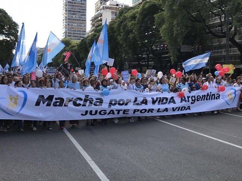 El 20 de Mayo convocan a una nueva marcha en contra del aborto