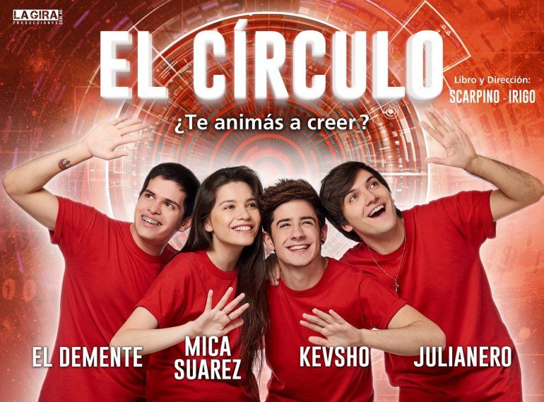 Mica Suarez, Kevsho, El Demente y Julianero llegan a Jujuy con El Círculo