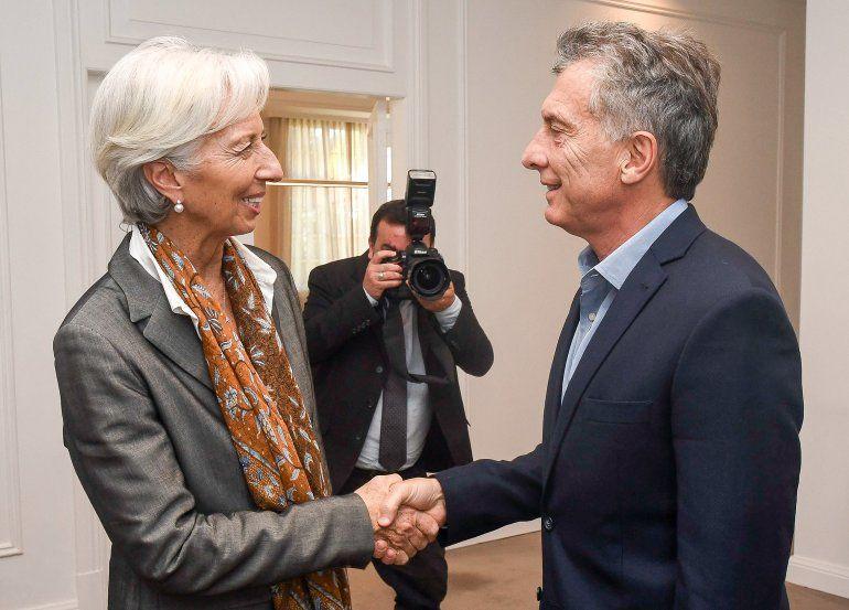 Llega Lagarde a la Argentina y se reunirá con Macri y opositores