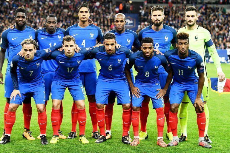 La Selección de Francia viaja a Rusia, con Griezmann como bandera