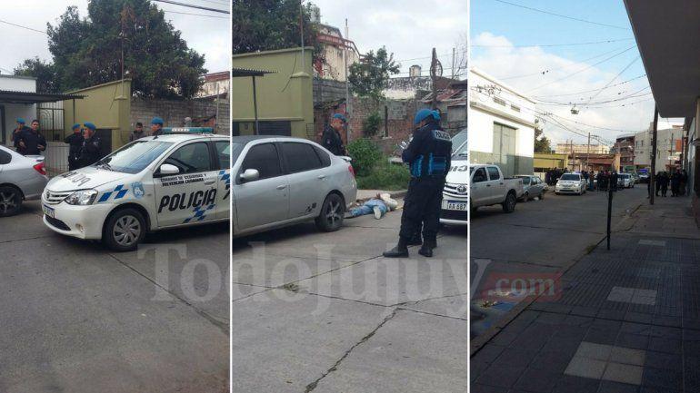 Detuvieron a un hombre armado cerca de la calle Juana Manuela Gorriti