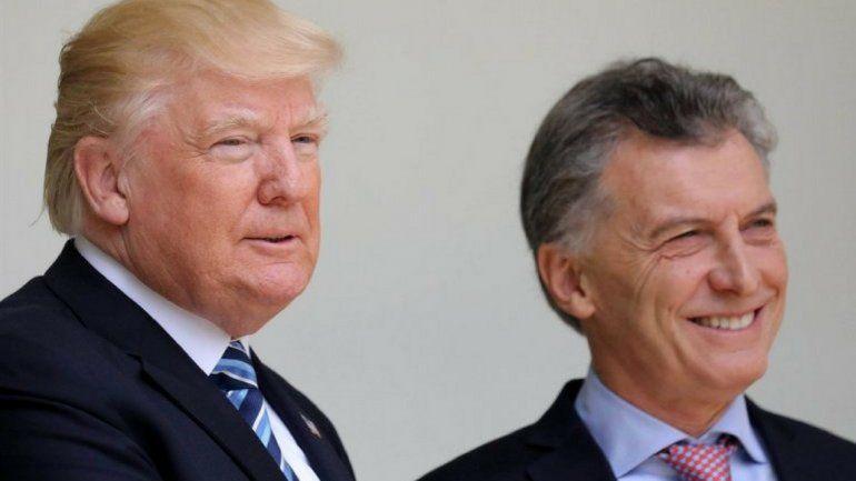 Fuerte apoyo de Trump a Macri: Está haciendo un buen trabajo. Respaldo su visión para transformar su país