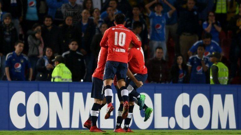 Independiente trajo un punto de Colombia y depende de sí mismo