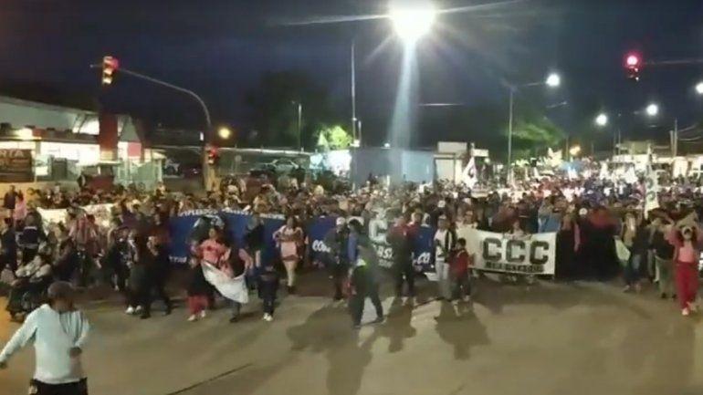 Libertador volvió a marchar contra el tarifazo y pidieron cambios en los servicios