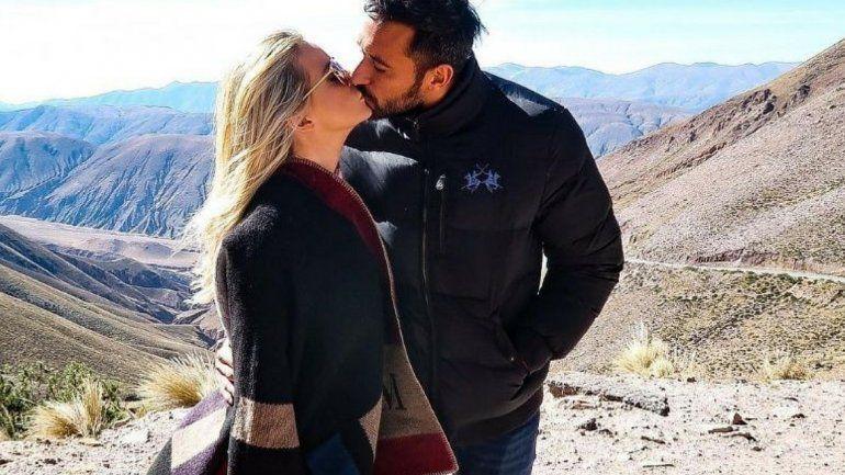 Amor entre los cerros: Alejandra Maglietti visitó la provincia con sus  padres y su novio