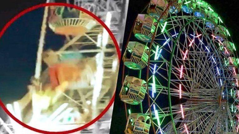 Una nena de 10 años murió al caer de un juego en un parque de diversiones