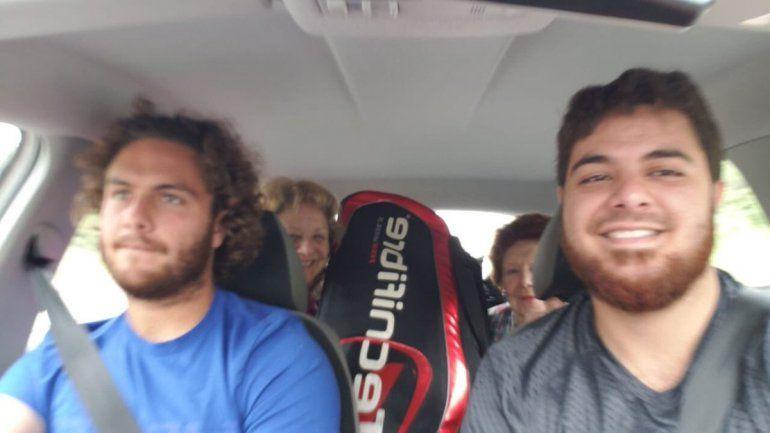 El argentino que manejó más de mil kilómetros en un día para jugar Roland Garros