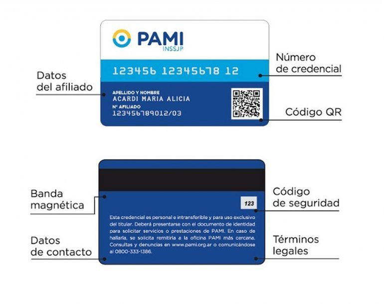 Comenzó la entrega de las nuevas credenciales del PAMI en Jujuy