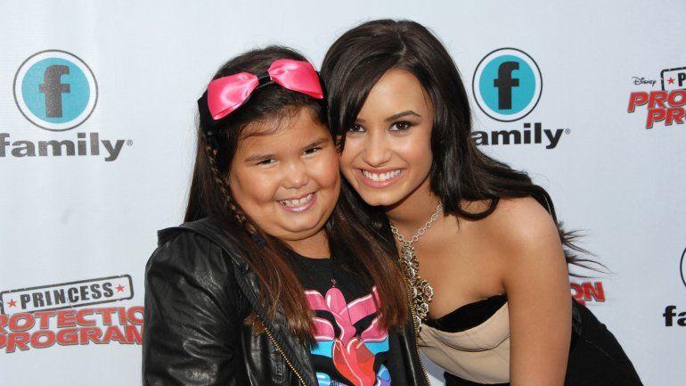 Madison De La Garza: La hermana de Demi Lovato ya no es una niña y sorprende con su belleza