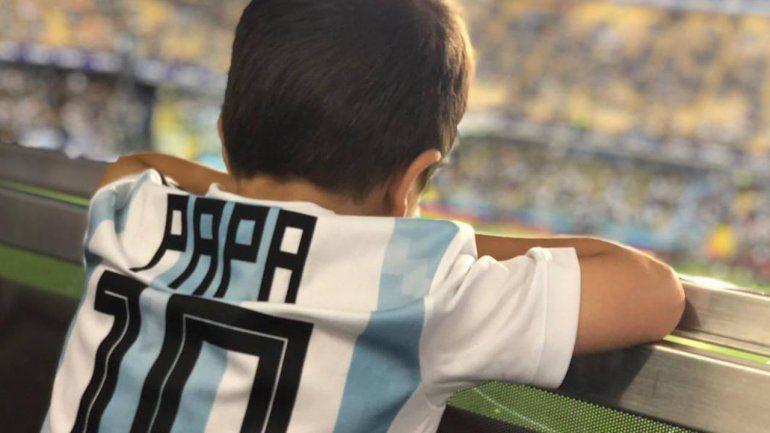 Los hijos de Messi festejaron el triunfo de Argentina: no te pierdas el tierno video