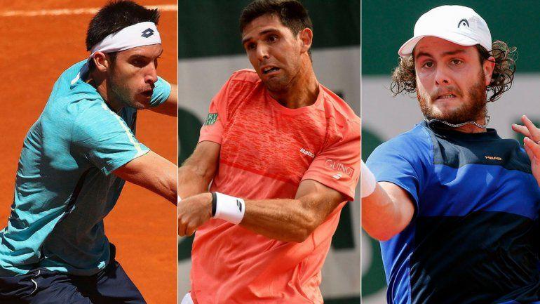 Tres argentinos perdieron y se despidieron de Roland Garros