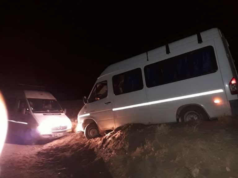 Docentes se accidentaron camino a Susques: fue una desgracia con suerte