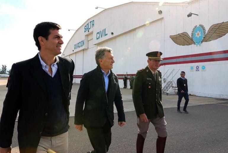 Macri se reúne en Salta con gobernadores del NOA, Carlos Haquim y cámaras empresariales de Jujuy