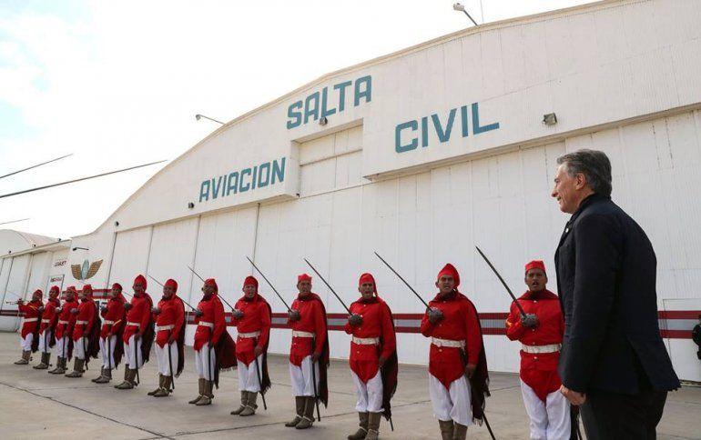 El presidente en Salta