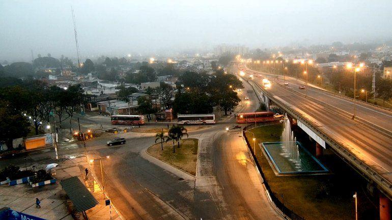 Mirá el estado de las rutas en una jornada con mucha niebla en Jujuy